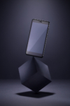 Smartphone Xiaomi Redmi Note 4 levitating on cube