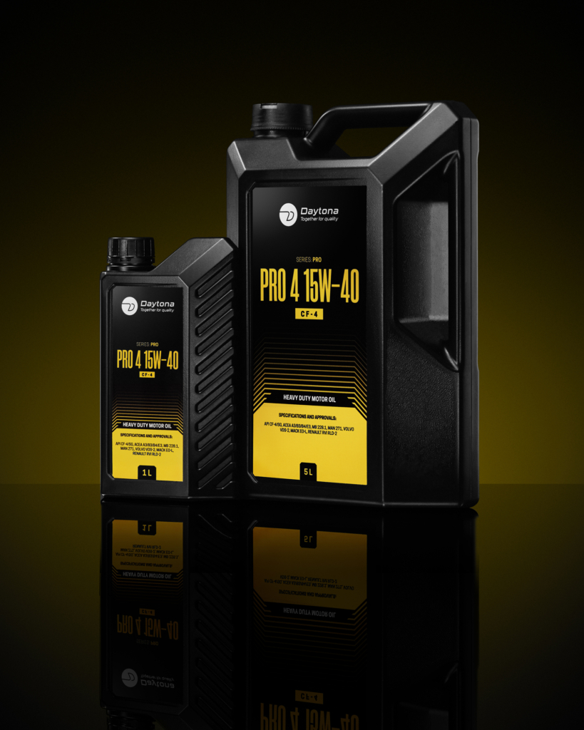 motor oil package photography